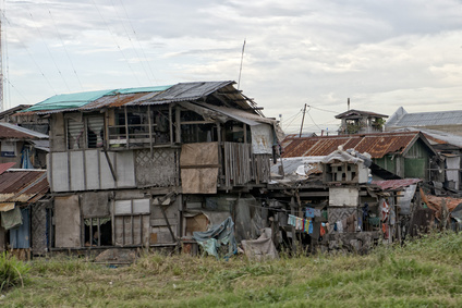 hovel, shanty, shack in Cebu Philippines